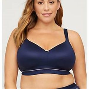 Catherines Full Coverage Smooth No Wire Bra 48D